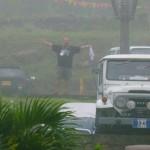 020 Aprovechando la lluvia para lavar el carro
