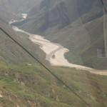 084 en Teleferico hacia la Mesa de Los Santos